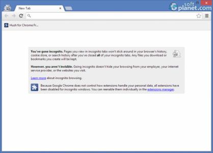 Hush for Chrome Screenshot2