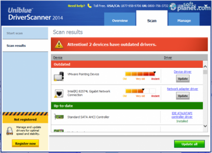 DriverScanner 2014 Screenshot2