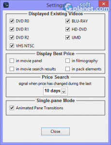 Coollector Movie Database Screenshot4