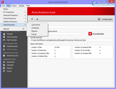 Avira Antivirus Suite Screenshot4