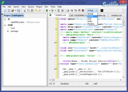 Vrode Script Editor Screenshot3