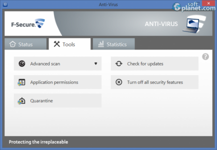 F-Secure Anti-Virus Screenshot3