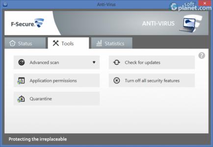 F-Secure Anti-Virus Screenshot3