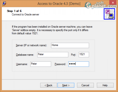 Access-to-Oracle Screenshot2