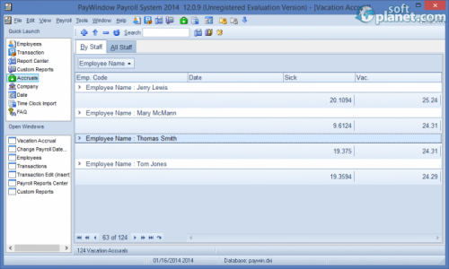 PayWindow Payroll System Screenshot5