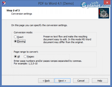 PDF to Word Screenshot2