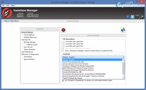 GameSave Manager Screenshot3