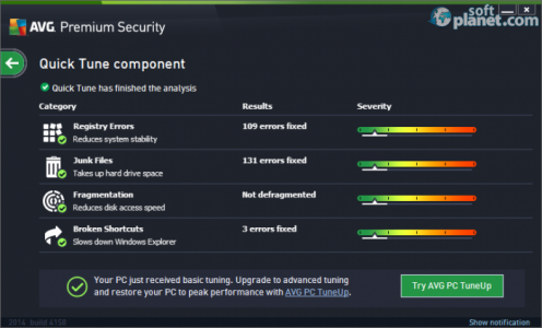 AVG Premium Security Screenshot4