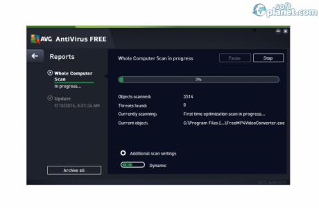AVG AntiVirus Free Screenshot3