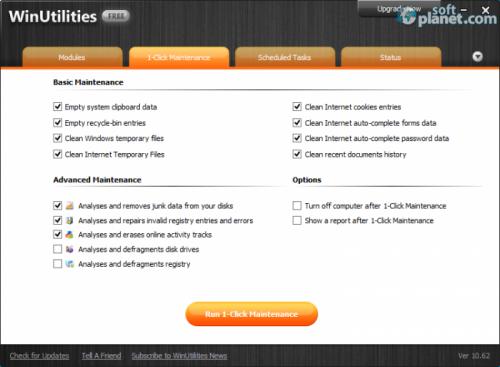 WinUtilities Free Screenshot2