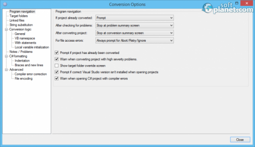 VB.NET to C# Converter Screenshot4