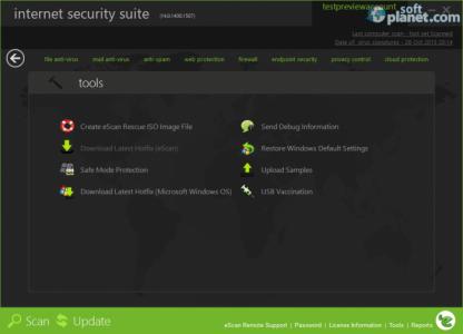 eScan Internet Security Suite Screenshot4