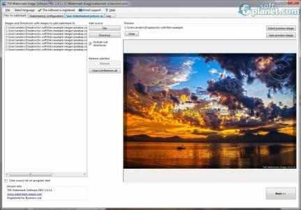 TSR Watermark Image Software Screenshot2