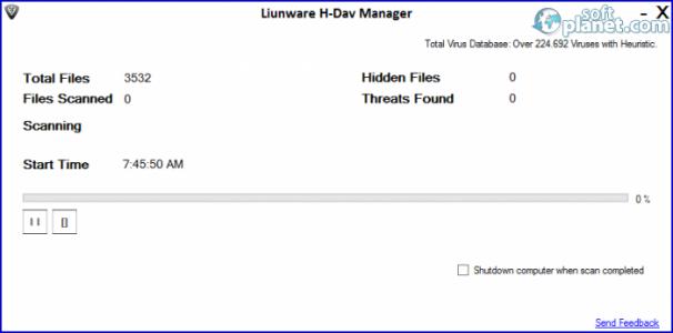 Liunware H Dav Computer Guard Screenshot3