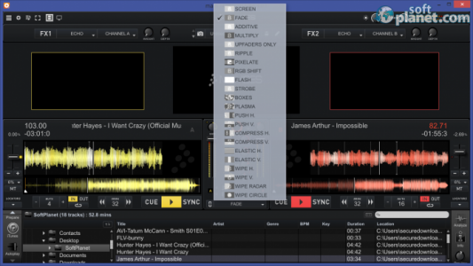 CrossDJ Screenshot2