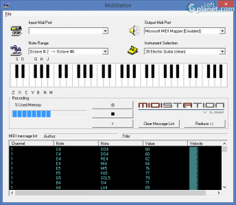 MidiStation Screenshot2