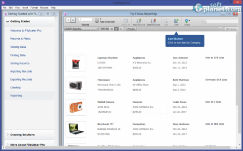 FileMaker Pro Screenshot4