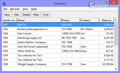 BS1 Professional Time Billing Screenshot5