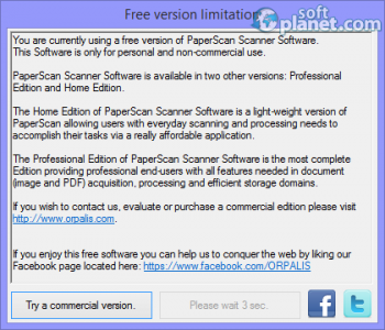 PaperScan Scanner Software Free Edition Screenshot2