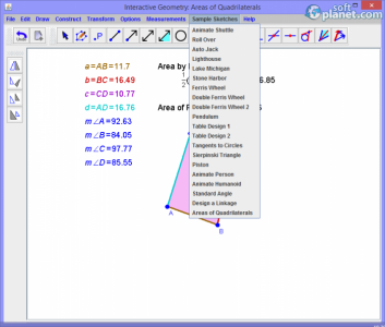 Interactive Geometry Screenshot2