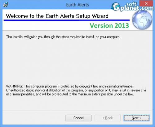 Earth Alerts Screenshot3