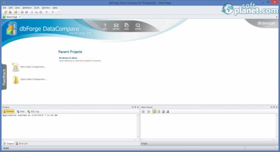 dbForge Data Compare for PostgreSQL Screenshot2