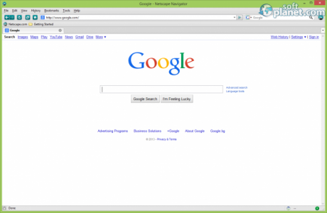 Netscape Navigator Screenshot3