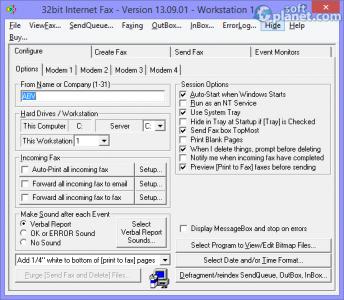 32bit Internet Fax Screenshot3