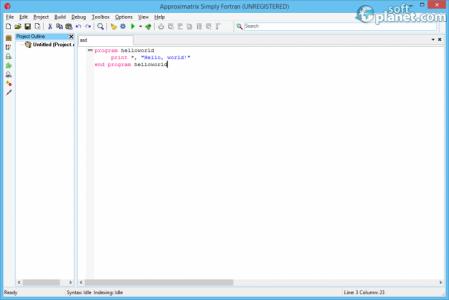 Simply Fortran Screenshot3