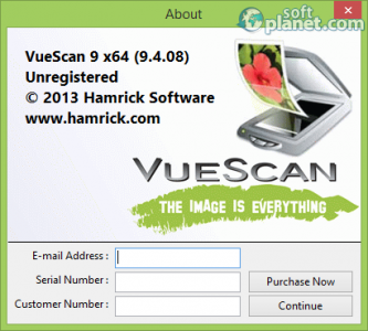 VueScan Screenshot3