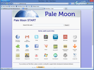 Pale Moon Portable Screenshot4