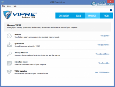 VIPRE Antivirus 2014 Screenshot3