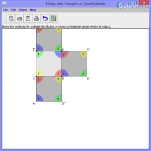 Tilings with Triangles or Quadrilaterals Screenshot2