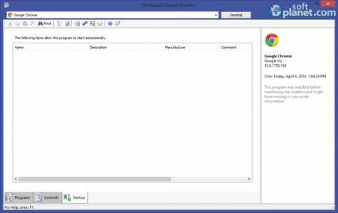 Mirekusoft Install Monitor Screenshot3