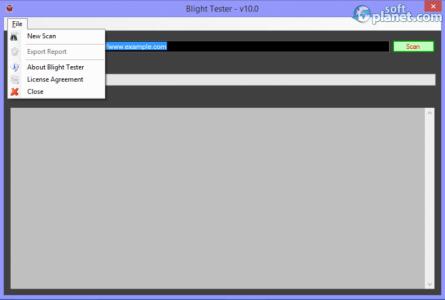 Blight Tester Screenshot2
