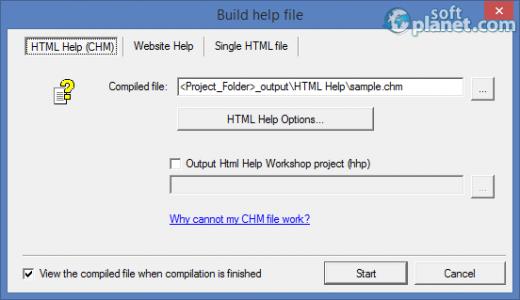 WinCHM Pro Screenshot2