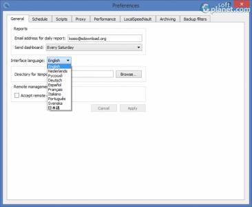 GFI MAX Backup Screenshot4