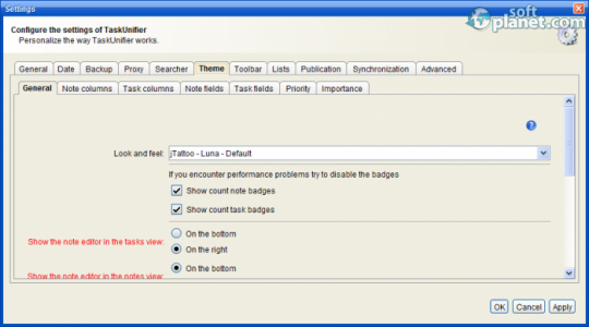 TaskUnifier Screenshot3