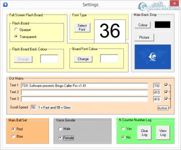 Bingo Caller Pro Screenshot2