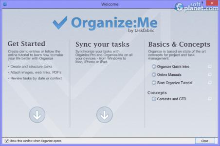 Organize:Me Screenshot5