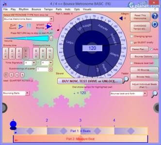 Bounce Metronome Screenshot2