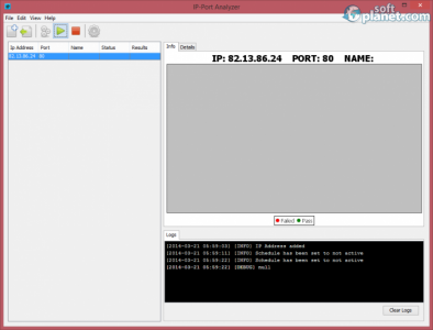 IP Port Analyzer Screenshot2