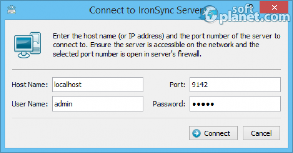 IronSync Server Screenshot2