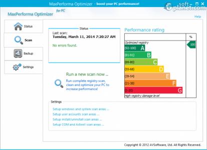 MaxPerforma Optimizer Screenshot2