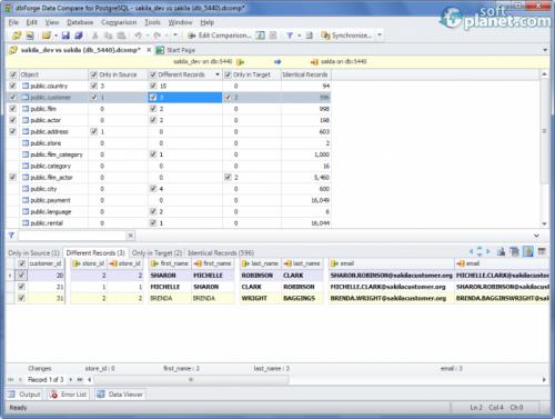 dbForge Data Compare for PostgreSQL 1.0