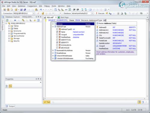 dbForge Studio for SQL Server 3.5