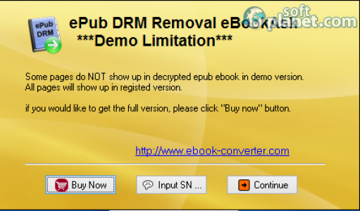 ePub DRM Removal eBookAsk Screenshot3