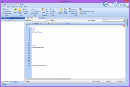 QweryBuilder Screenshot2