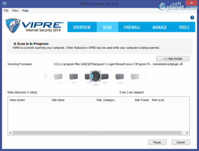VIPRE Internet Security Screenshot2