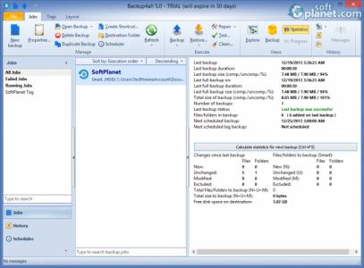 Backup4all Professional Screenshot4